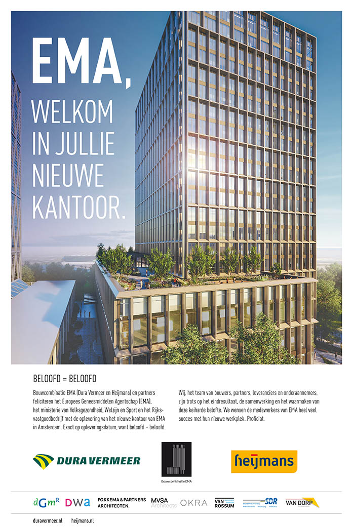 Dura vermeer advertentie door Esens Design