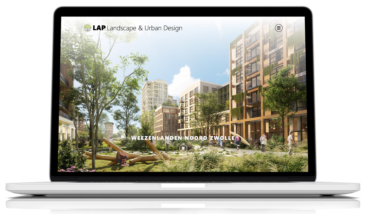 Website LAP Landscape & Urban Design